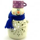 Snežak Lučka Lonček Vijolčen