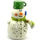 Snežak Lučka Lonček Zeleni