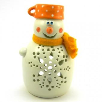Snežak Lučka Lonček Oranžni