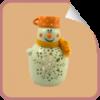 Svečnik snežak